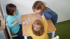 Diskussion unter Kindern